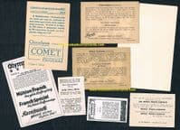 1920s -60 *instant collection* swimming trade cards as SEEN IN MY 2021 BOOK